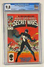 Marvel Super Heroes SECRET WARS #8 Alien Symbiote Origin (Becomes VENOM) CGC 9.8