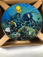 Collector Plate Coral Paradise The Living Oasis by Higgins Bond 1989