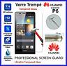 HUAWEI ASCEND P6 Tempered Glass Vitre de protection d'écran en VERRE TREMPE