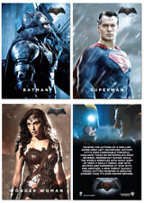 2015 NYCC Exclusive BATMAN V SUPERMAN Movie - 3 Card Promo Set