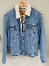 Levi's Denim Sherpa Jacket Size M