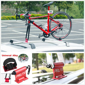Car Roof Bike Bicycle Mount Carrier Rack Quick-release Alloy Fork Lock Universal