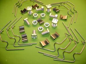 GREENHOUSE REPAIR KITS FROM 20 TO 100 W CLIPS + Z CLIPS + SQUARE NUTS AND BOLT