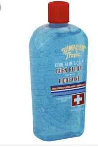 (1) Hawaiian Tropic Cool Aloe After Sun Burn I.C.E. Gel, 16-Fluid Once Bottle