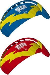 Power Kite Barkite Rush V Zugmatte Flugmatte Zellendrachen Trickdrache Dual Line