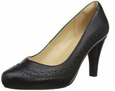 Clarks Ladies Court Shoes DALIA RUBY Black Leather UK 5.5 / 39