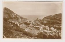 Cornwall postcard - Polperro (General View) - RP
