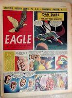 1955 Classic Eagle Comic Vol 6 No 40: Dan Dare in The Man From Nowhere- 7th Oct.