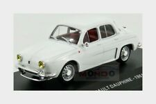Renault Dauphine 1958 White SOLIDO 1:43 SL4304300