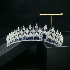 Dutch simulated Sapphire Parure Tiara Luxury Queen Maxima of the Netherlands