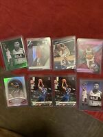 Lot (8) 2019-20 Panini Chronicles Zion Williamson ROOKIE Rc Green Pink Holo Psa?