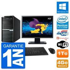 "PC Tour Acer M4630G Ecran 19"" Intel G3220 RAM 4Go Disque Dur 1To Windows 10 Wifi"