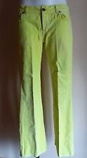 ladies retro  neon cord trousers jeans