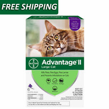 Advantage Ii Flea & Tick Spot Treatment for Cats, 9 lbs - 6 Pack Free Shipping