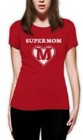 Super Mom Shield - Superhero Mother Mother's Day Gifts Women T-Shirt For Wife