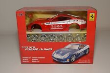 V 1:24 MAISTO METAL KIT FERRARI 599 GTB FIORANO RALLY RED MINT BOXED