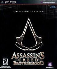 Assassin's Creed Brotherhood Collector's Edition **NO GAME** Jack in the box PS3