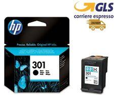 CARTUCCIA ORIGINALE HP 301BK NERO INCHIOSTRO ch561ee DeskJet 1050 2050s 3050