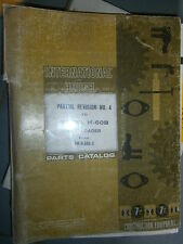 IH International Hough H60B chargeur 1970-1973 : parts catalog