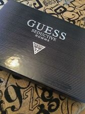 SEDUCTIVE HOMME 3 Piece Gift Set with 3.4 Oz Eau de Toilette by GUESS NEW
