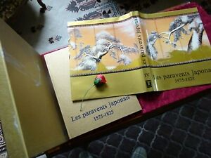 LES PARAVENTS JAPONAIS  par HENRI SCREPEL 1575 - 1825 ( E.O ) TOME 4 -- 1985