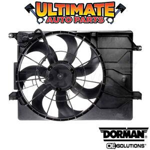 Radiator Cooling Fan (2.0L or 2.4L) for 10-13 Hyundai Tucson