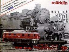 Catalogo MARKLIN 1994 Novità News - ITA   [G99A]