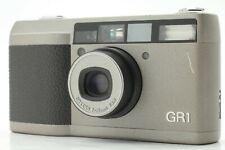 【NEAR MINT】 Ricoh GR1 Silver 35mm Point & Shoot Film Camera From Japan #789