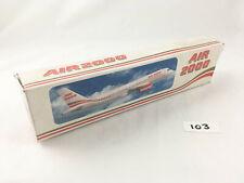 RARE LONG PROSPER AIRBUS A320 AIR 2000 1990S COLOURS DESKTOP MODEL 1:200 MIB