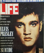 Life Vtg Magazine June 1990 New Evidence Points to Elvis Suicide - No Label VG
