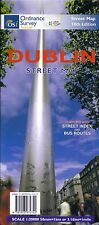 Map of Dublin, Ireland, City map with index booklet, by Ordnance Survey