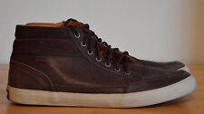 $180 CAMPER Motel 36732 Brown Suede Leather High Top Sneakers Men's EU 40 US 7