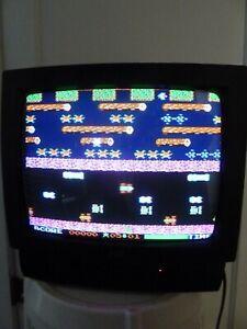 "JVC 13"" CRT Color Gaming TV Model C-13010 w/ Remote LQQK"