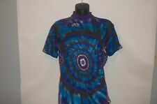 Pactimo Tie-Dye Cycling Lightweight Jersey Size Small