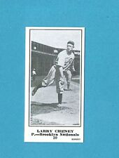 1915 M101-5 The Sporting News Reprint #30 Larry Cheney (Brooklyn Nationals)