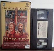 VHS FILM Ita Avventura IL TEMPIO DI FUOCO chuck norris ex nolo no dvd(VHS20)