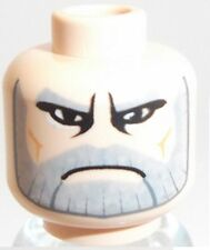 Lego Star Wars Count Dooku Head x 1 Light Flesh for Minifigure