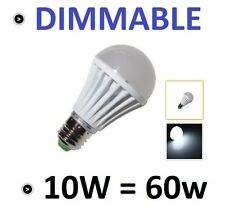 1 AMPOULE LED MAISON E27 10W 220V DIMMABLE - COULEUR BLANC FROID 6000K