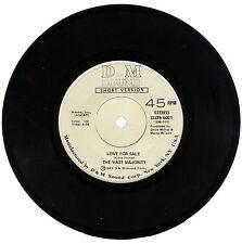 """VAST MAJORITY  """"LOVE FOR SALE (SHORT VERSION)""""   KILLER 70's SOUND    LISTEN!"""