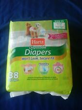 Hartz Disposable Diapers For Dogs 5.5 To 9 Lbs 38