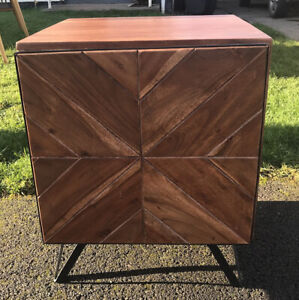 SWOON bedside table SCOTT - good condition, modern contemporary cabinet.