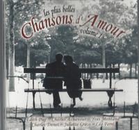 CD LES PLUS BELLES CHANSONS D'AMOUR Vol 1    3065
