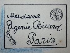 GINO BALDO (1884-1961) DESSIN de PRESSE ORIGINAL PARU 1915 BICARD dit le BOUIF 5