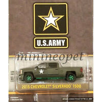 GREENLIGHT 29834 HOBBY US ARMY LSSV 2015 CHEVROLET SILVERADO 1/64 Chase