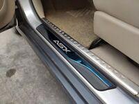 für Mitsubishi ASX 15-2019 Car Schutz Zubehör Teile Einstiegsleisten Beschützer