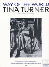 Camino del mundo-Tina Turner - 1990 Partituras