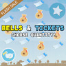 Animal Crossing New Horizons - Nook Miles Tickets & Bells | Fast Delivery