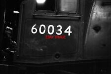 PHOTO  LNER NUMBERPLATE FOR 60034