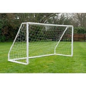 8x4 Kids Football Goal Net Posts Garden Fun Children Outdoor Summer Play Footie