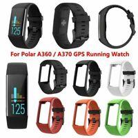 Für POLAR A360/A370 GPS Running Uhr Silikon Armband Ersatz Strap Uhrenarmbänder